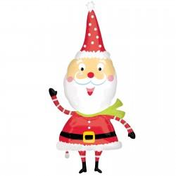 Christmas Waving Santa