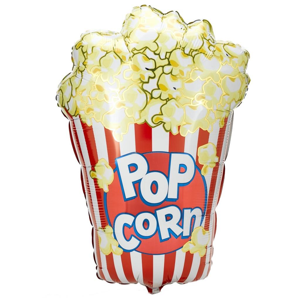 Popcorn Box foil balloons