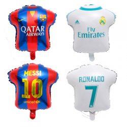 World Cup Soccer Team Uniform foil balloon