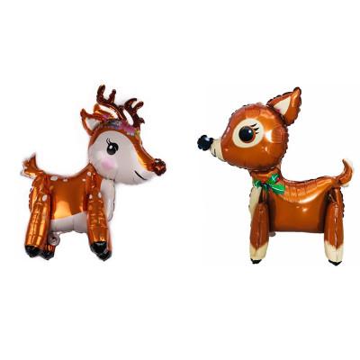 3D stitching sika deer balloon