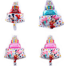 Happy Birthday Cake Mickey Mouse   Foil Balloons