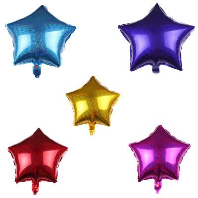 Laser foil balloons