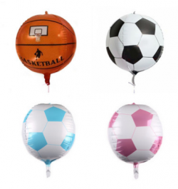 "18"" Championship Soccer Foil Balloons"