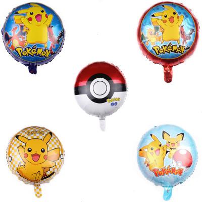 """18"""" Pokemon Standard Foil Balloons"""