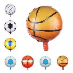 18″ Basketball Foil Balloons