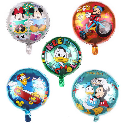 18″ Mickey Mouse & Friends Party Foil Balloons