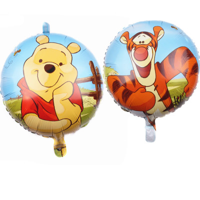 18″ Pooh And Friends Sunny Birthday Foil Balloons