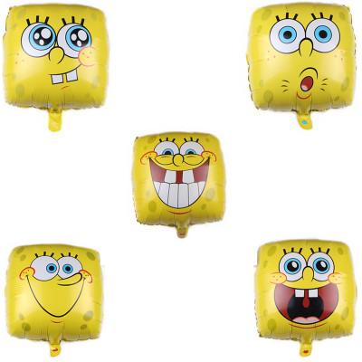 18″ Spongebob Smiles Foil Balloons (2)
