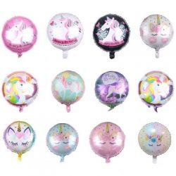 "18"" Unicorn Eyelashes Foil Balloons"