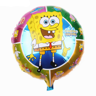 """18"""" Spongebob Smiles Foil Balloons"""