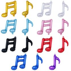 Double Music Note Shape Balloons
