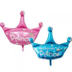 Glittering Crown Supershape Balloons