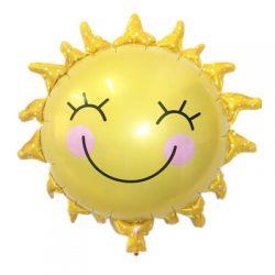 Iridescent Sun Supershape Balloons