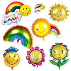 Summer foil balloons