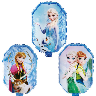 "18"" Anna And Elsa Frozen Foil Balloons"
