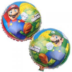 """18"""" Super Mario Bros Foil Balloons"""