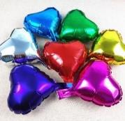 10″ Heart Foil Balloons