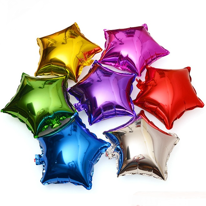 10″ Star Foil Balloons