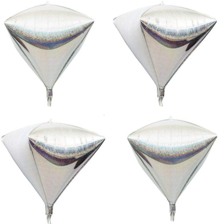 Laser Foil Diamond 4D balloo
