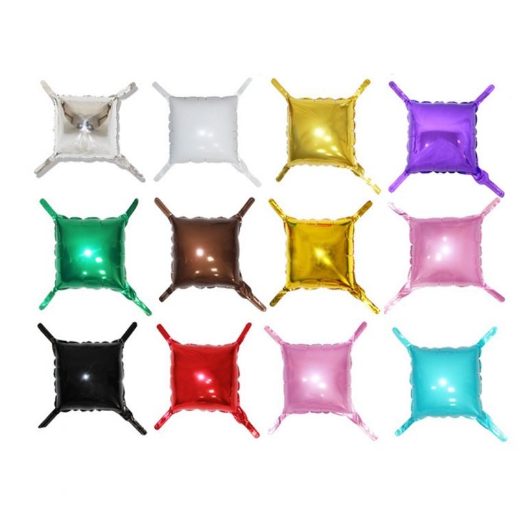 Square Shape with tail foil Balloons