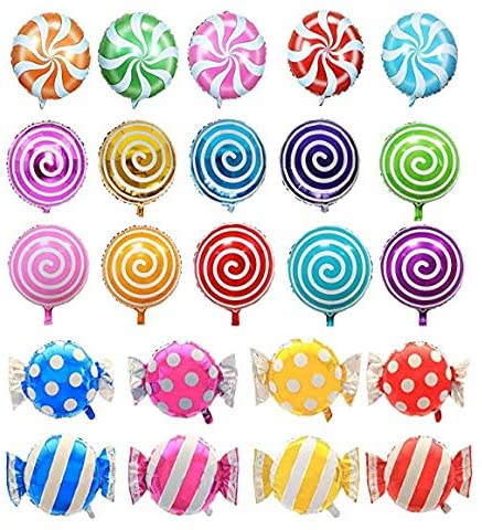 Sweet Candy foil Balloons