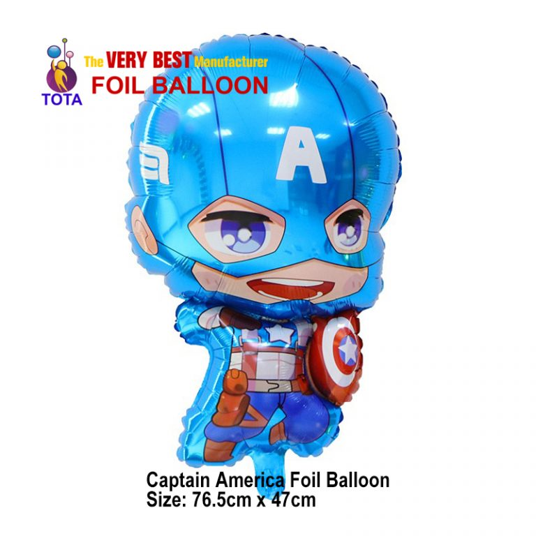 Captain America Foil Balloon