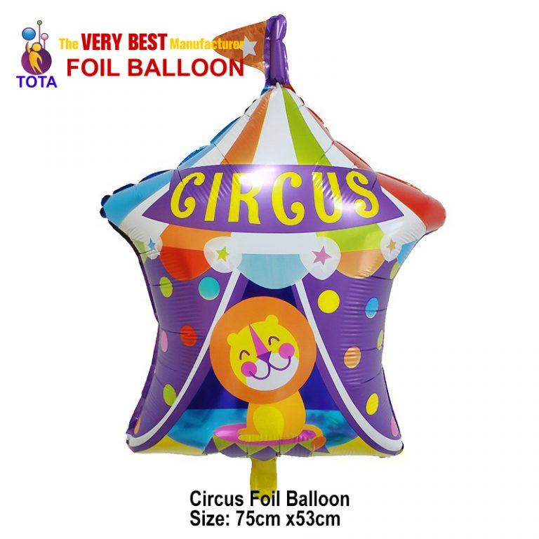 Circus Foil Balloon