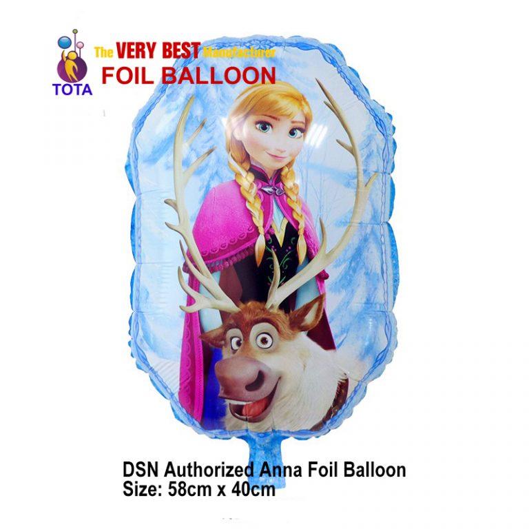 DSN Authorized Anna Foil Balloon
