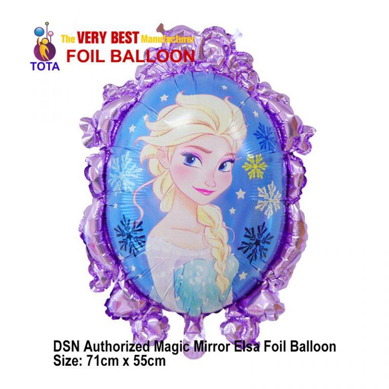 DSN Authorized Magic Mirror Elsa Foil Balloon