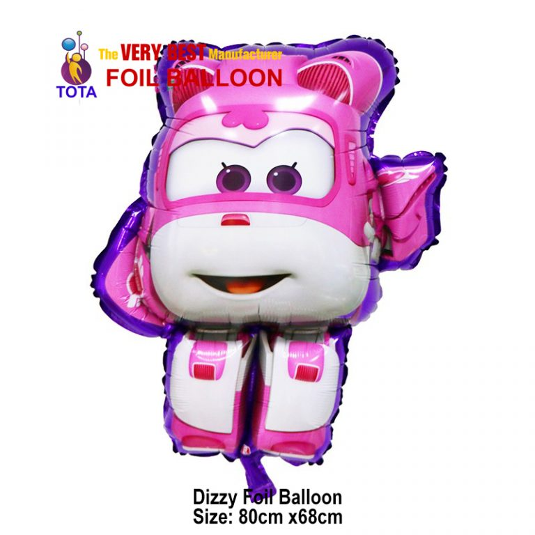 Dizzy Foil Balloon