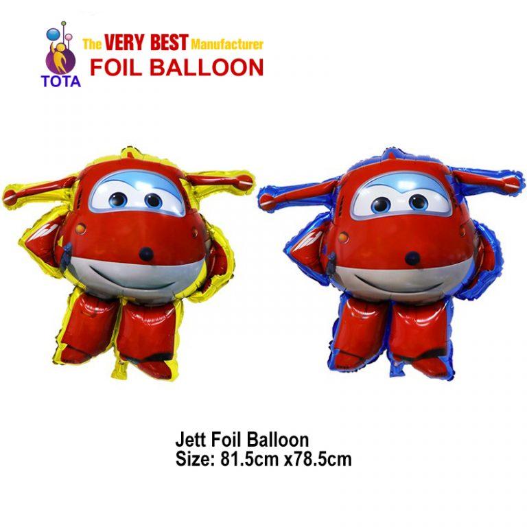 Jett Foil Balloon