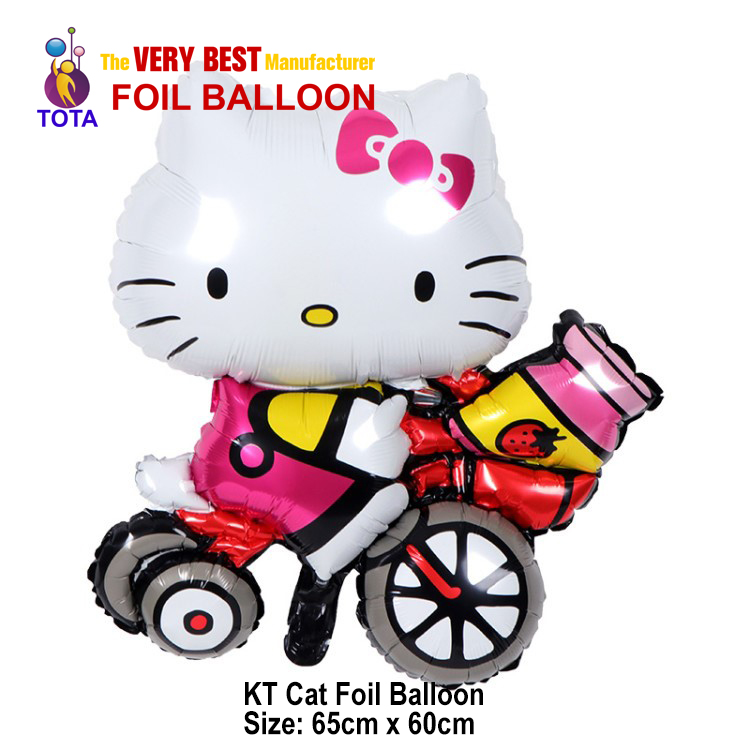 KT Cat Foil Balloon