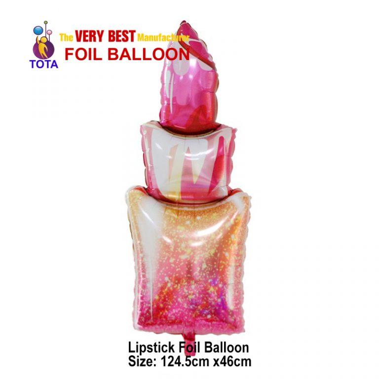 Lipstick Foil Balloon