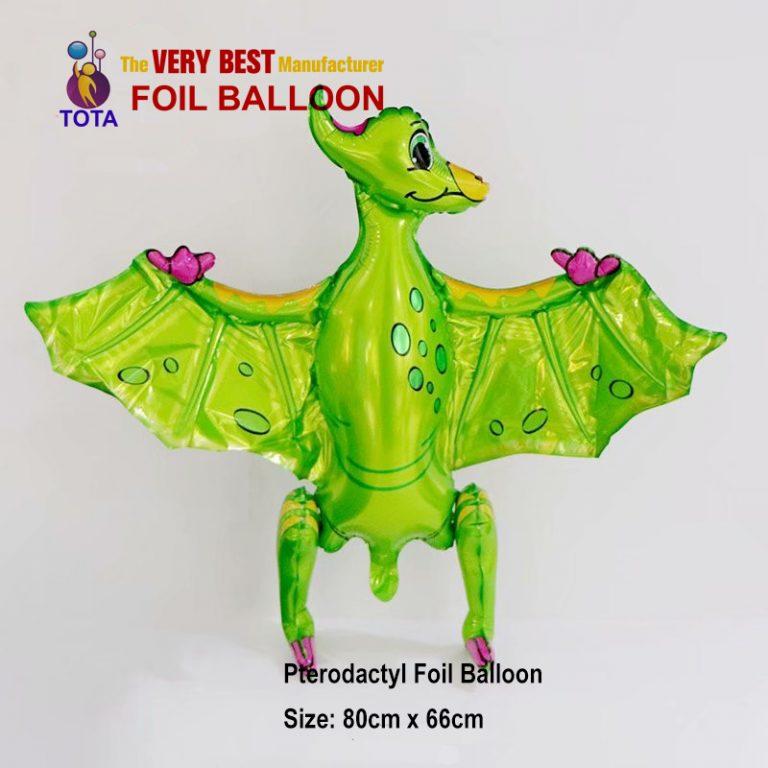 Pterodactyl Foil Balloon