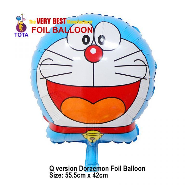 Q version Doraemon Foil Balloon