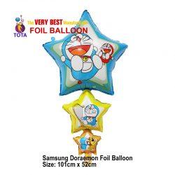 Samsung Doraemon Foil Balloon