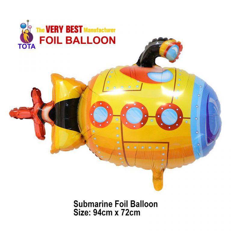 Submarine Foil Balloon