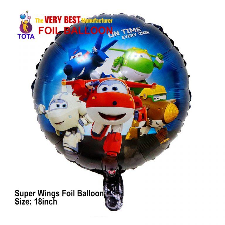 Super Wings Foil Balloon
