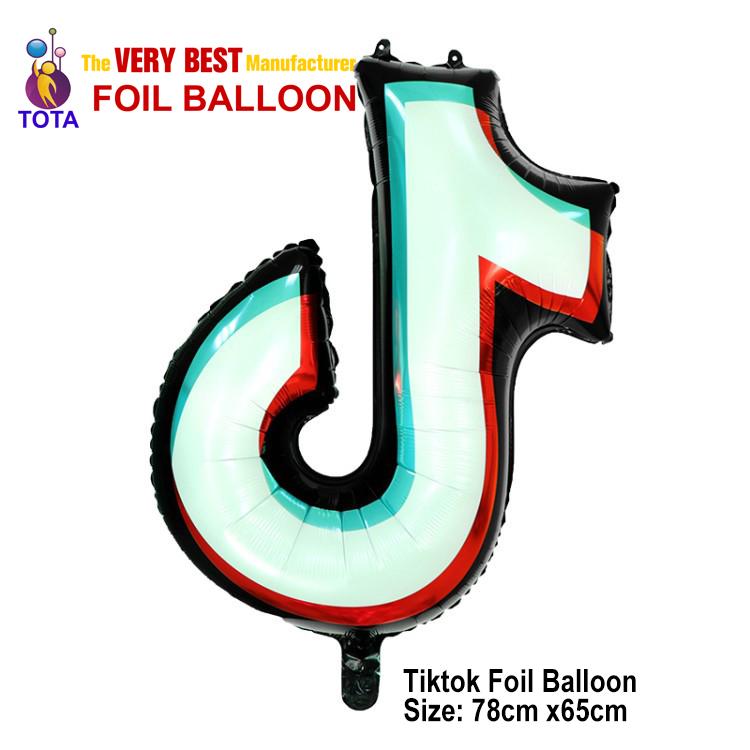 Tiktok foil balloon
