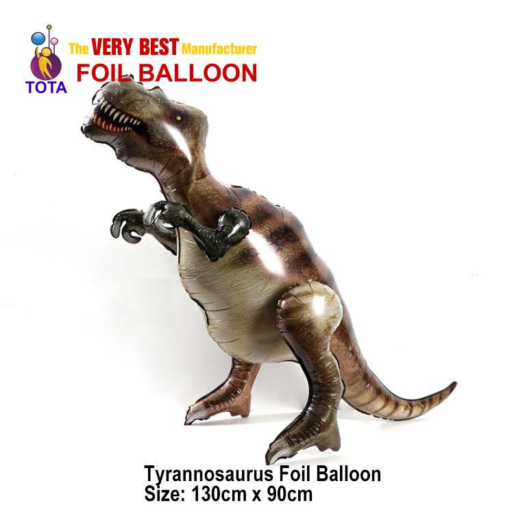 Tyrannosaurus Foil Balloon