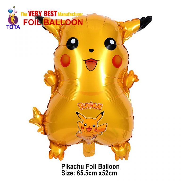 pikachu foil balloon